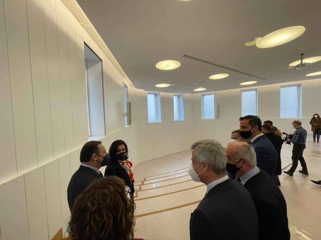VÍDEO: Ábalos inaugura de manera oficial el edificio María Díaz de Haro 10