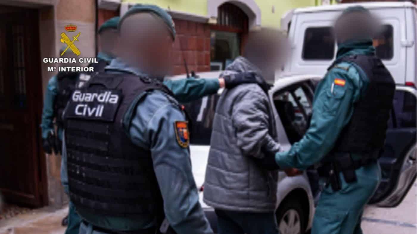La Guardia Civil detiene a un atracador que actuaba en Navarra y La Rioja 2