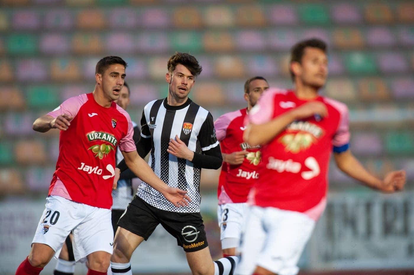 El Tudelano golea a un Haro sin gol en El Mazo 4