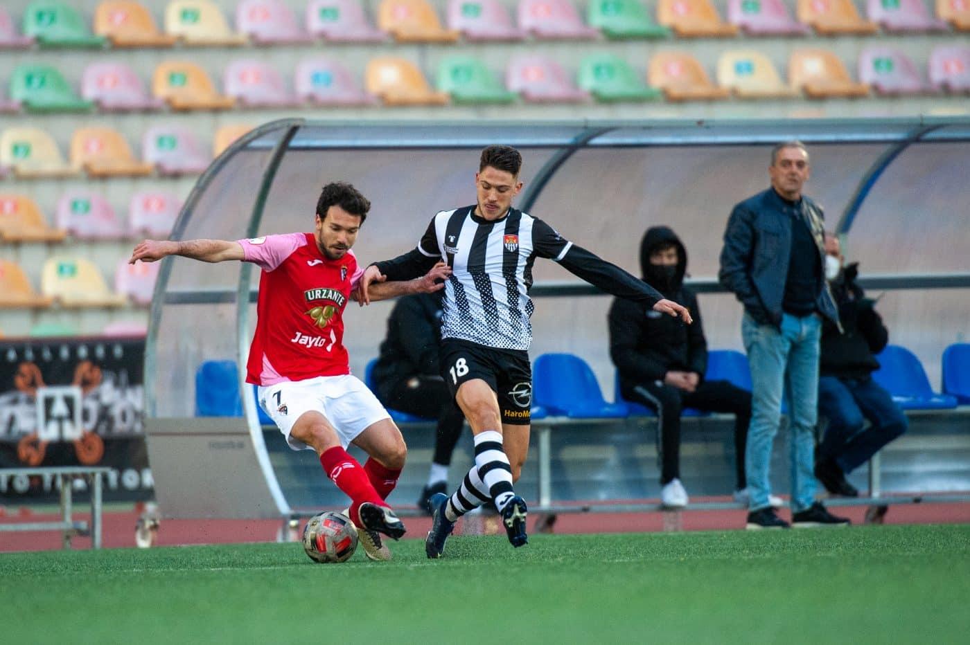 El Tudelano golea a un Haro sin gol en El Mazo 2