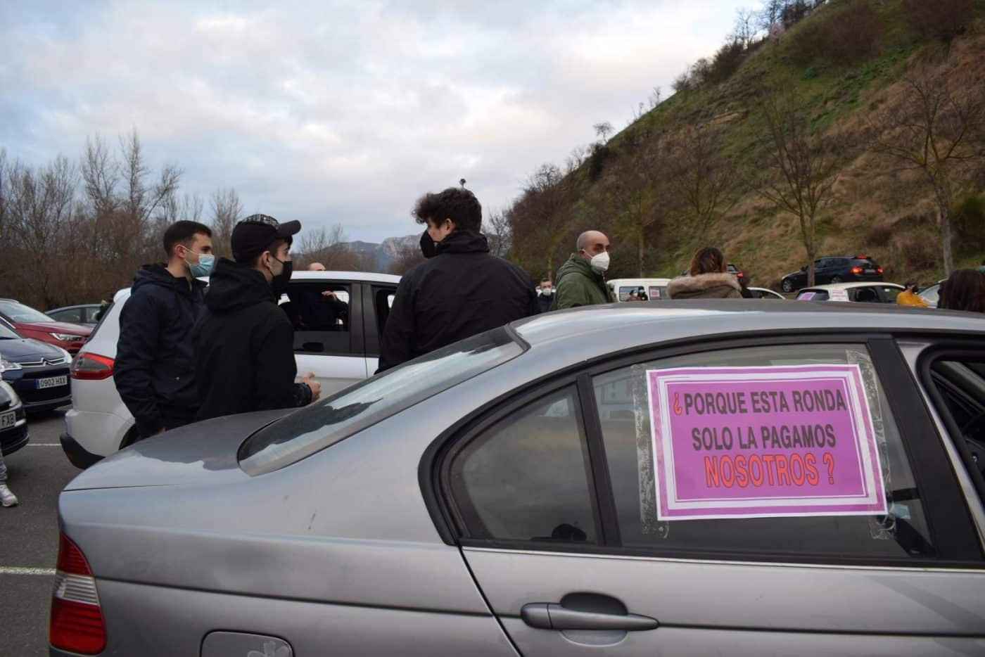 Clamor en Haro contra los cierres por la COVID y para exigir ayudas directas 15