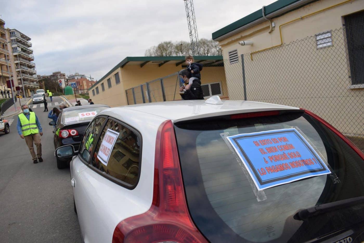 Clamor en Haro contra los cierres por la COVID y para exigir ayudas directas 8