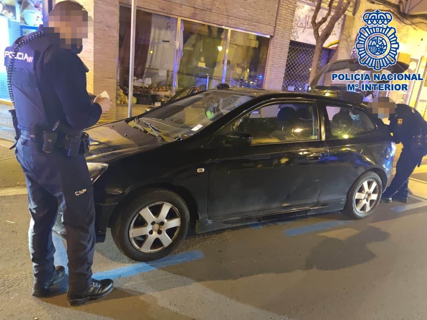 La Policía Nacional detiene a tres personas en una fiesta ilegal en Logroño 1
