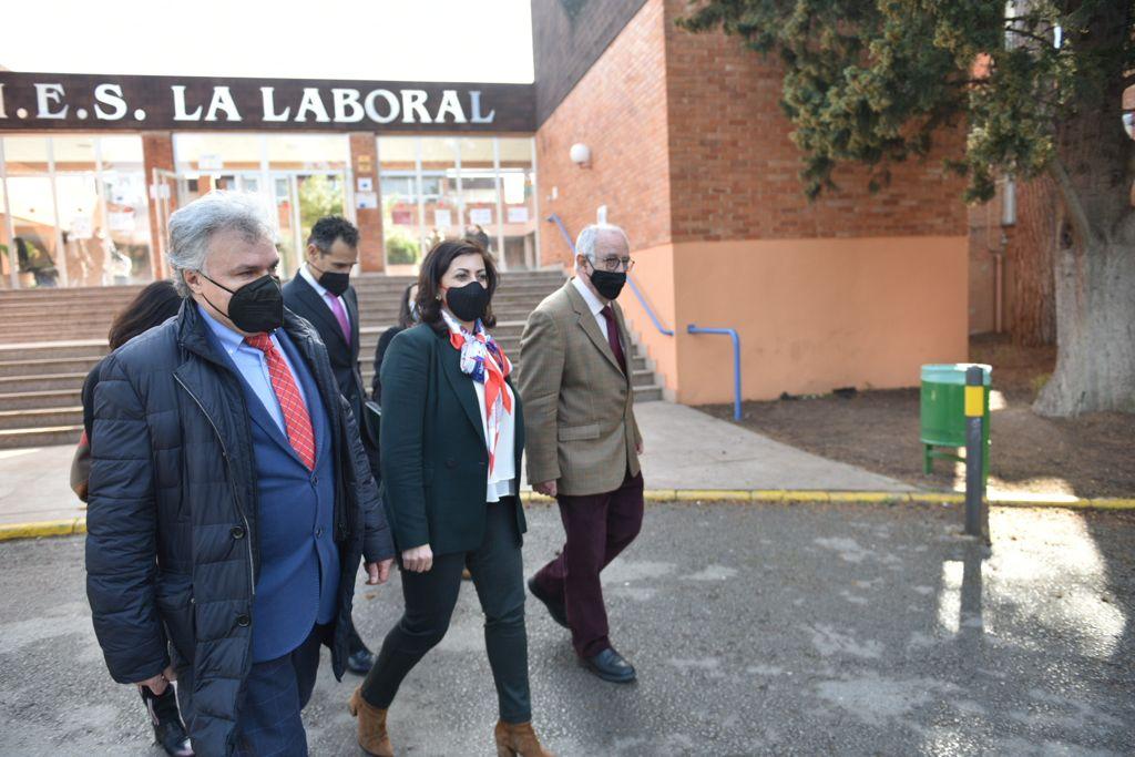 Visita IES La Laboral