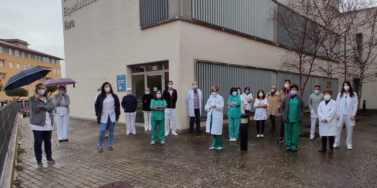 Concentración centro de salud