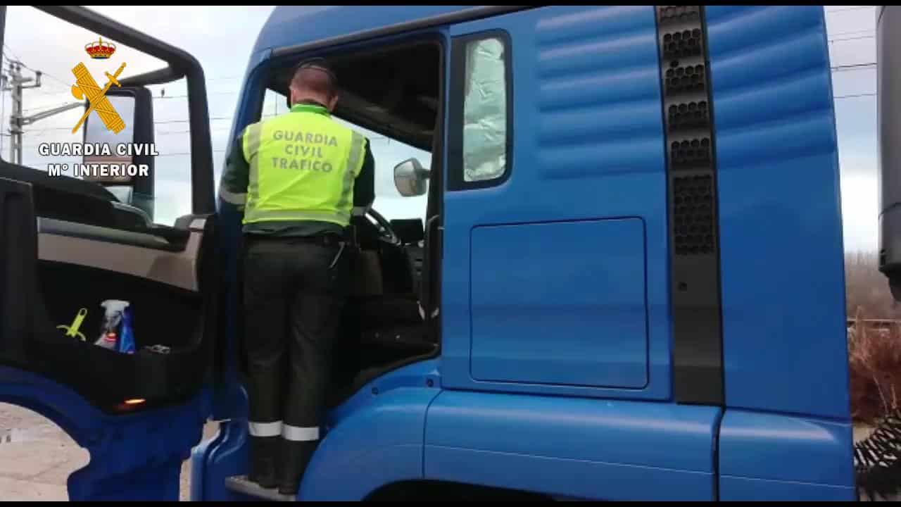 Camionero Guardia Civil