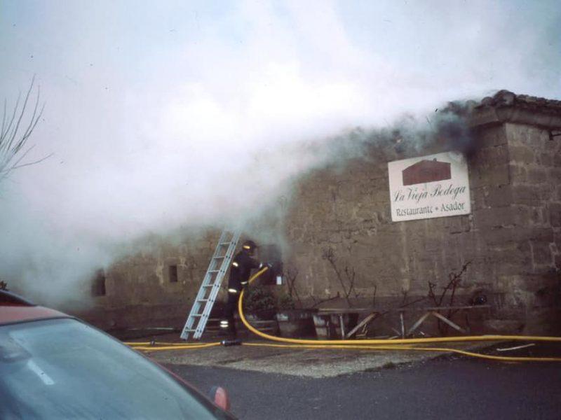 Incendio La Vieja Bodega