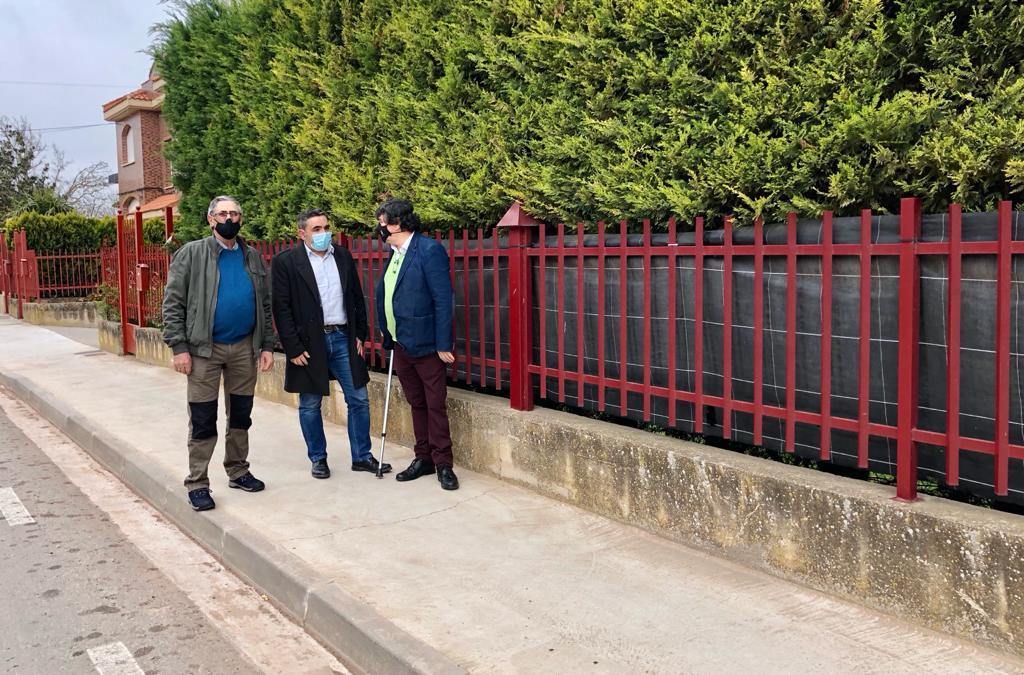 Velasco visita Alesanco, Torrecilla sobre Alesanco, Cañas y Canillas de Río Tuerto donde se han acometido diversas obras 1