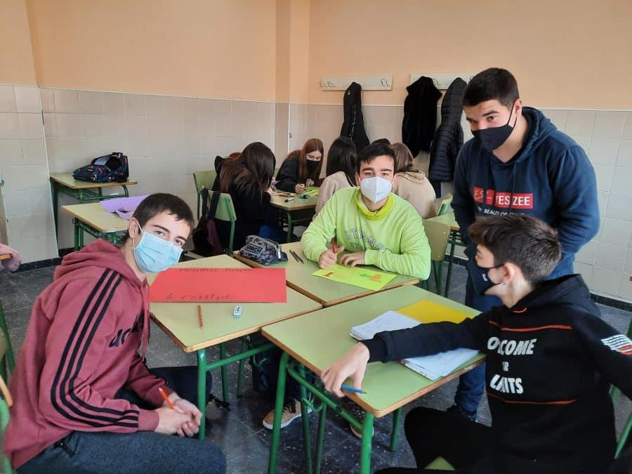 Alumnos del IES Rey Don García impulsan un proyecto educativo para mantener el entorno de Nájera más limpio 5