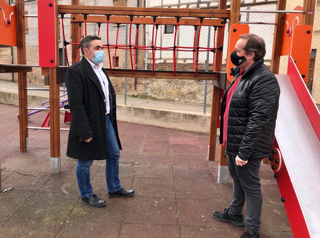 Velasco visita Alesanco, Torrecilla sobre Alesanco, Cañas y Canillas de Río Tuerto donde se han acometido diversas obras 2