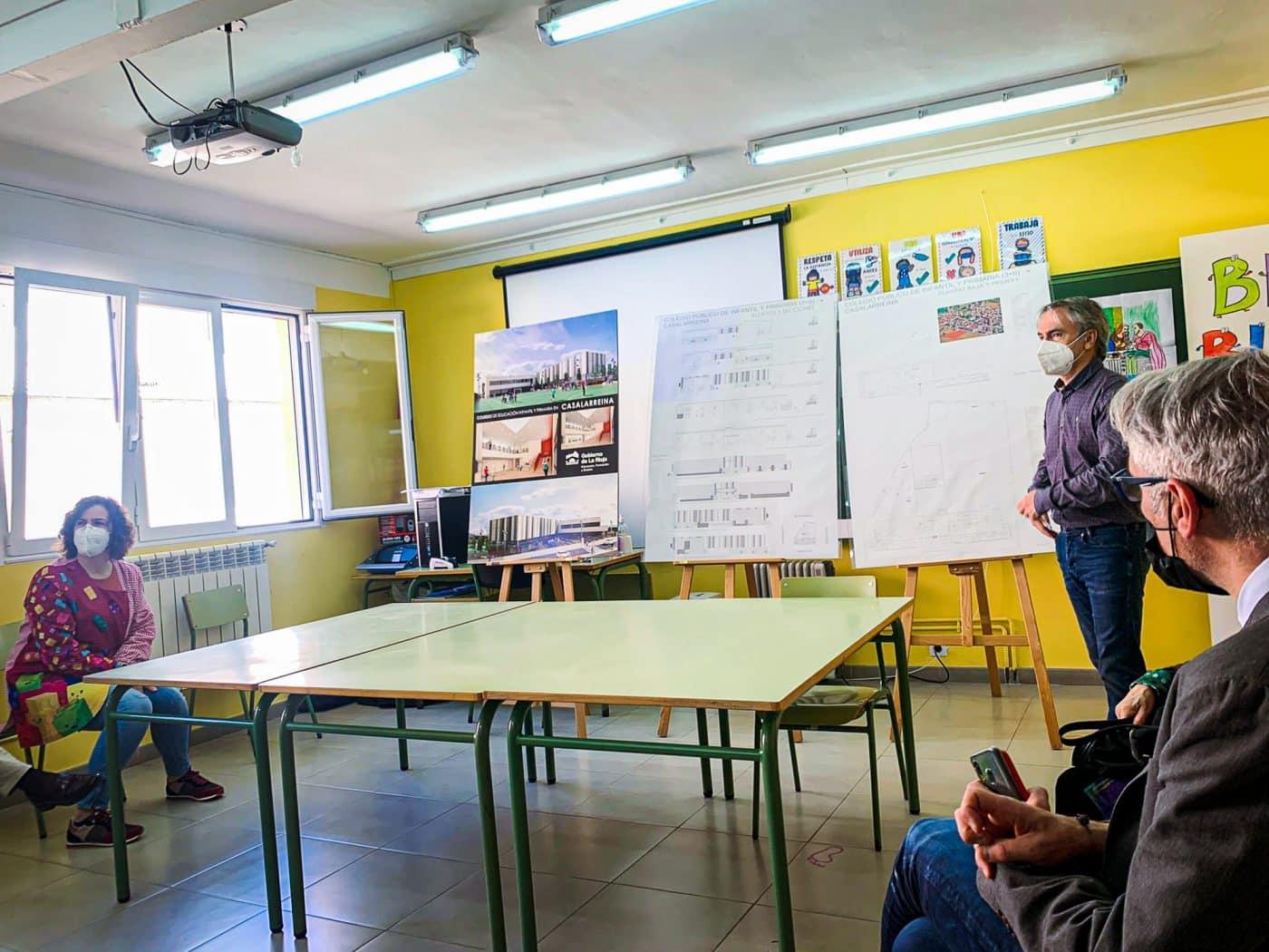 El nuevo colegio de Casalarreina será una realidad en 2023 2