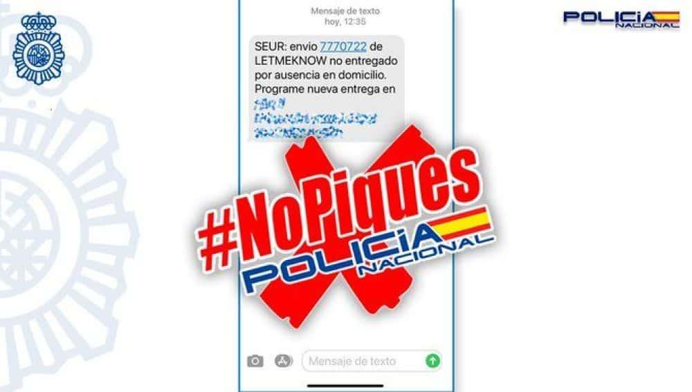 La Policía alerta en La Rioja sobre posibles estafas a través de mensajes SMS 1