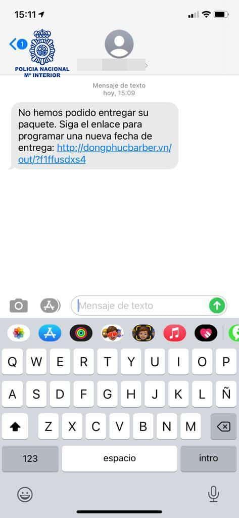 La Policía alerta en La Rioja sobre posibles estafas a través de mensajes SMS 2