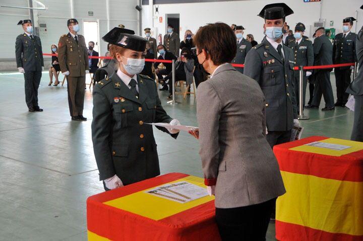 """La Guardia Civil recuerda al teniente coronel Gayoso: """"Un líder nato y un ejemplo de esfuerzo y trabajo"""" 4"""