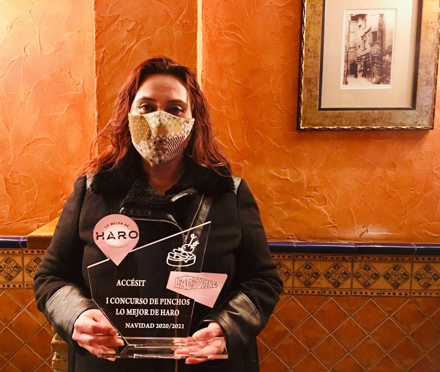 Los Berones recibe el premio del Concurso de Pinchos 'Lo Mejor de Haro' 1