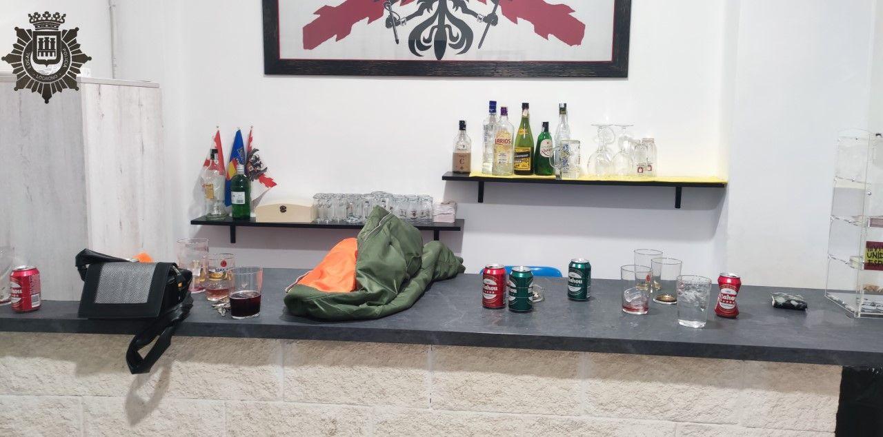La Policía Local denuncia a un mismo local de Logroño cinco veces en una semana y propone su clausura temporal 1