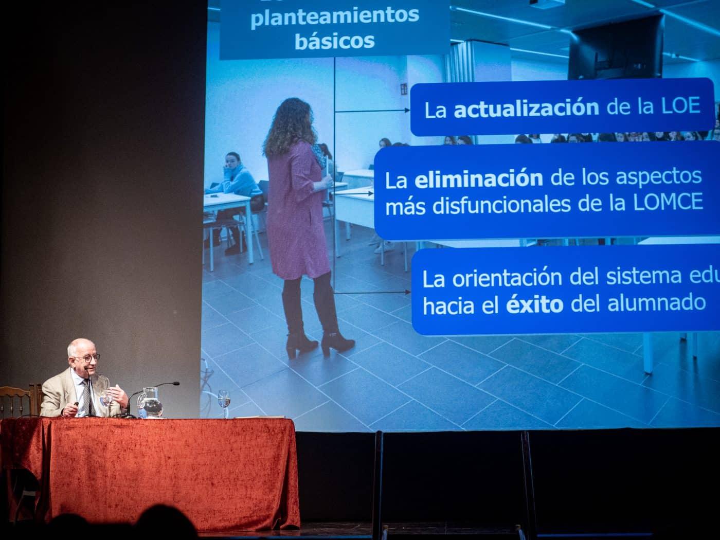 Uruñuela destaca en Haro los retos que la nueva Ley educativa abre en La Rioja 2