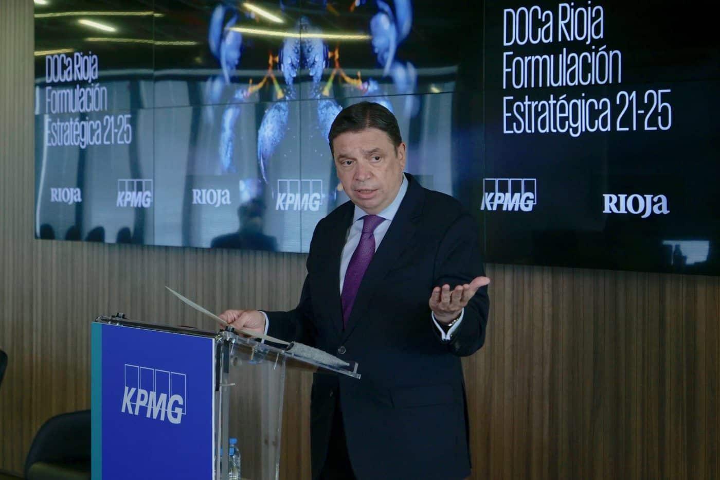 """Planas dice que la DOCa Rioja es """"un referente"""" a la hora de afrontar los retos de futuro 1"""