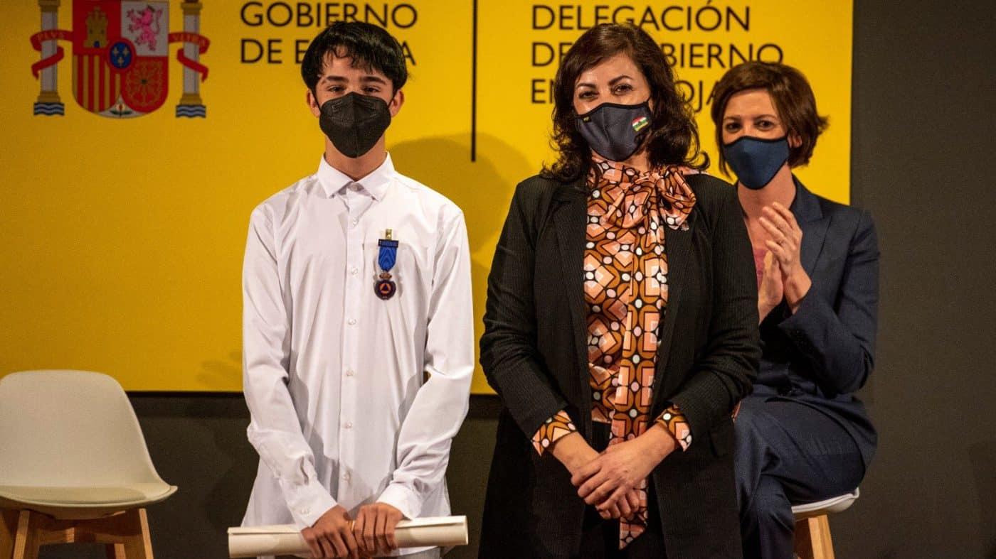 Pablo Alcaide y Marcos García reciben las Medallas al Mérito de Protección Civil 4