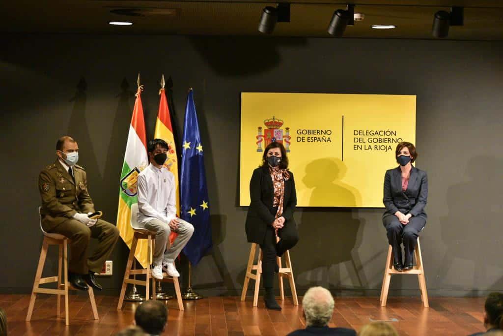 Pablo Alcaide y Marcos García reciben las Medallas al Mérito de Protección Civil 1