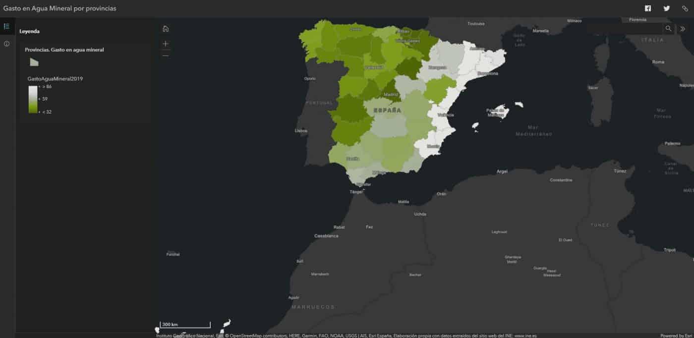 La Rioja se sitúa como la séptima comunidad que menos recurre al agua embotellada 1