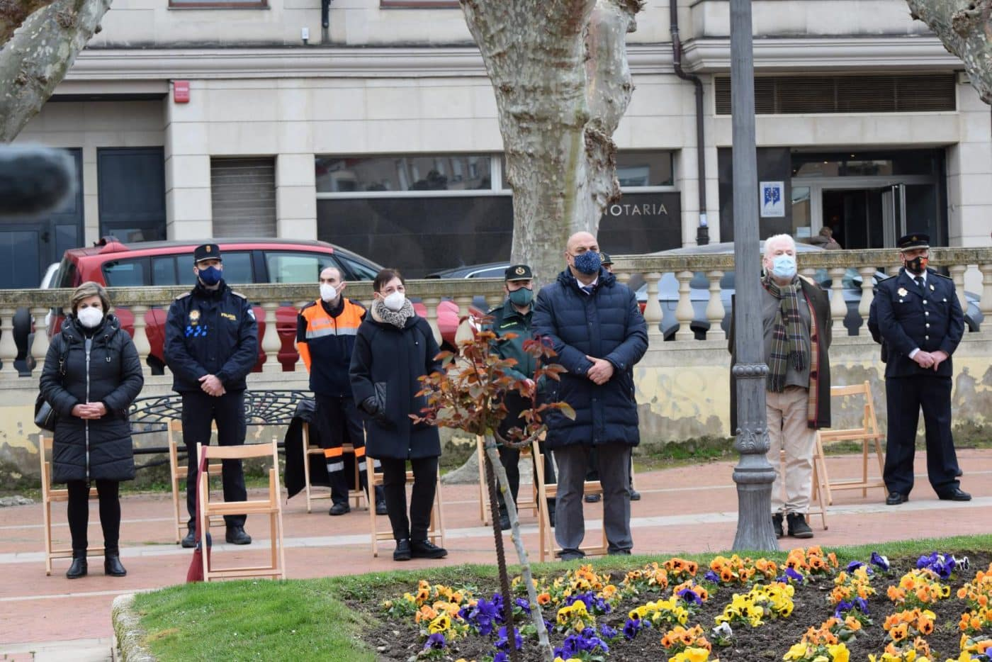 Haro vuelve a recordar a las víctimas y héroes de la pandemia un año después 13