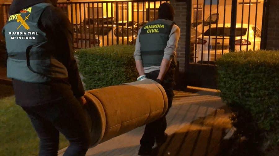 Operación 'Cachi': desmanteladas dos viviendas dedicadas al cultivo de marihuana en Logroño y Oyón 1