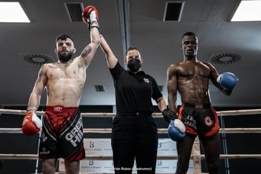 Ander Sánchez debuta con triunfo en el 'kickboxing' profesional 1