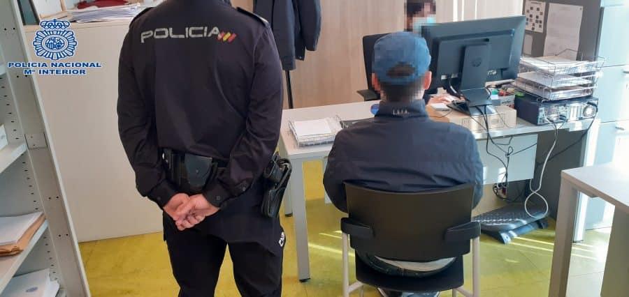 Detenido el autor de dos hechos delictivos cometidos en Logroño 1