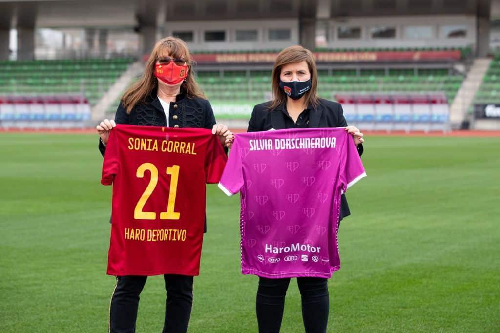 Selección Española de Fútbol y Haro Deportivo