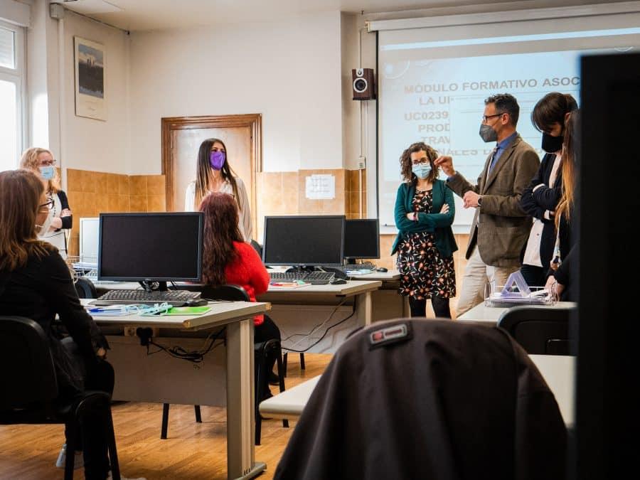 FOTOS: La nueva unidad formativa de FP en Haro inicia su actividad 1