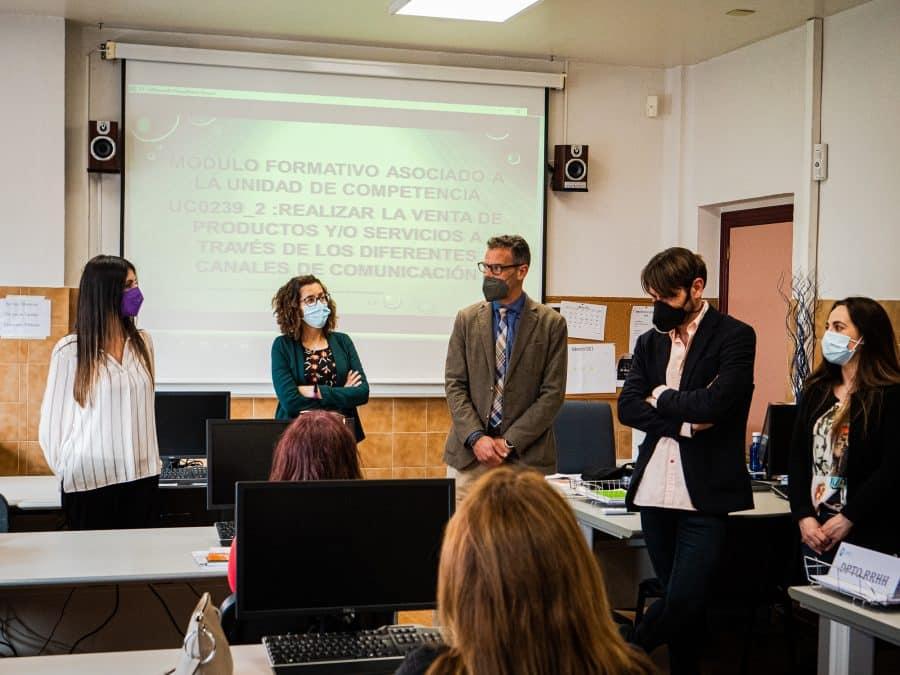 FOTOS: La nueva unidad formativa de FP en Haro inicia su actividad 5