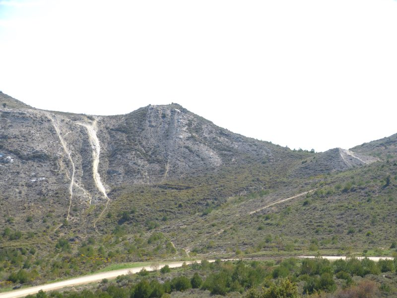 Daños en los montes