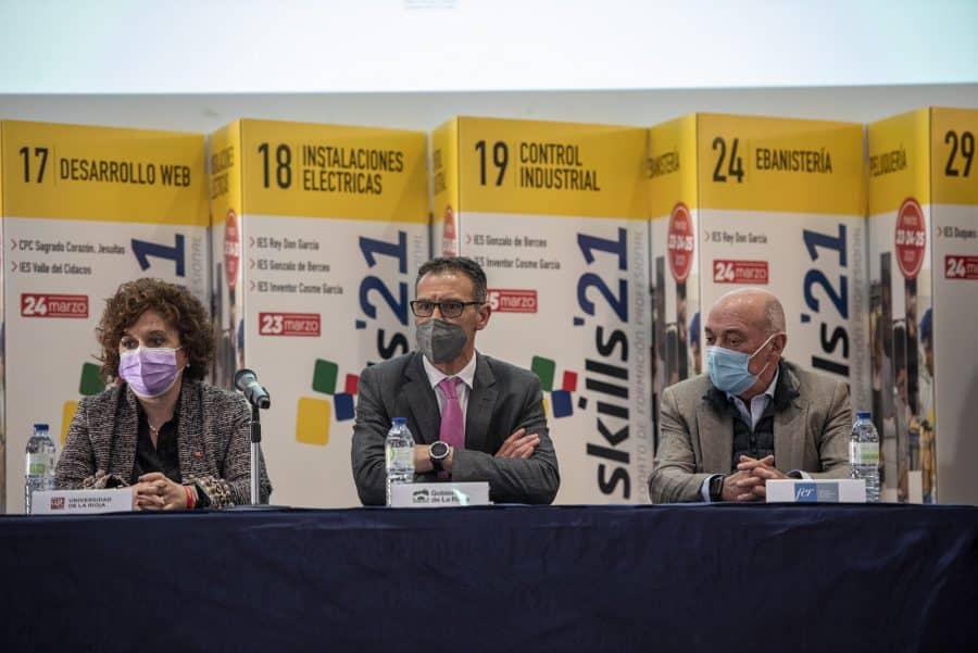 """RiojaSkills 2021 entrega sus premios y se plantea como reto una FP """"que rompa con los estereotipos culturales"""" 20"""