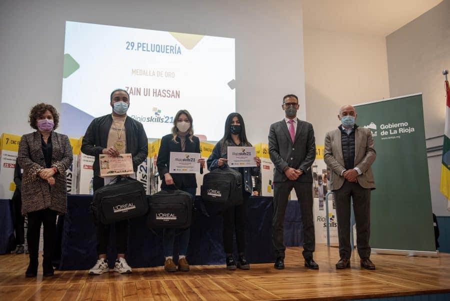 """RiojaSkills 2021 entrega sus premios y se plantea como reto una FP """"que rompa con los estereotipos culturales"""" 12"""