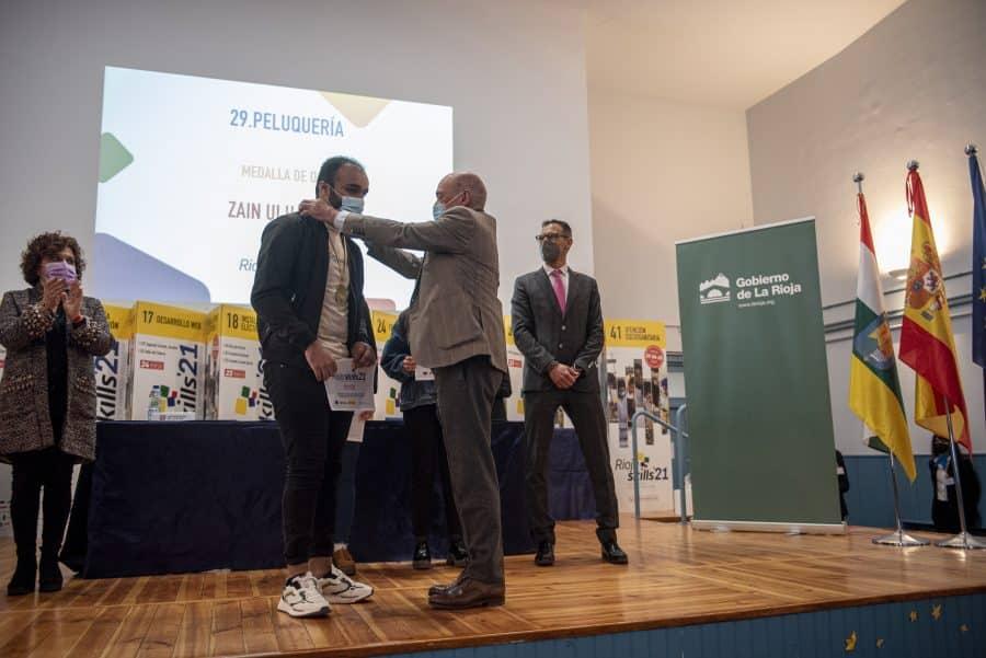"""RiojaSkills 2021 entrega sus premios y se plantea como reto una FP """"que rompa con los estereotipos culturales"""" 11"""
