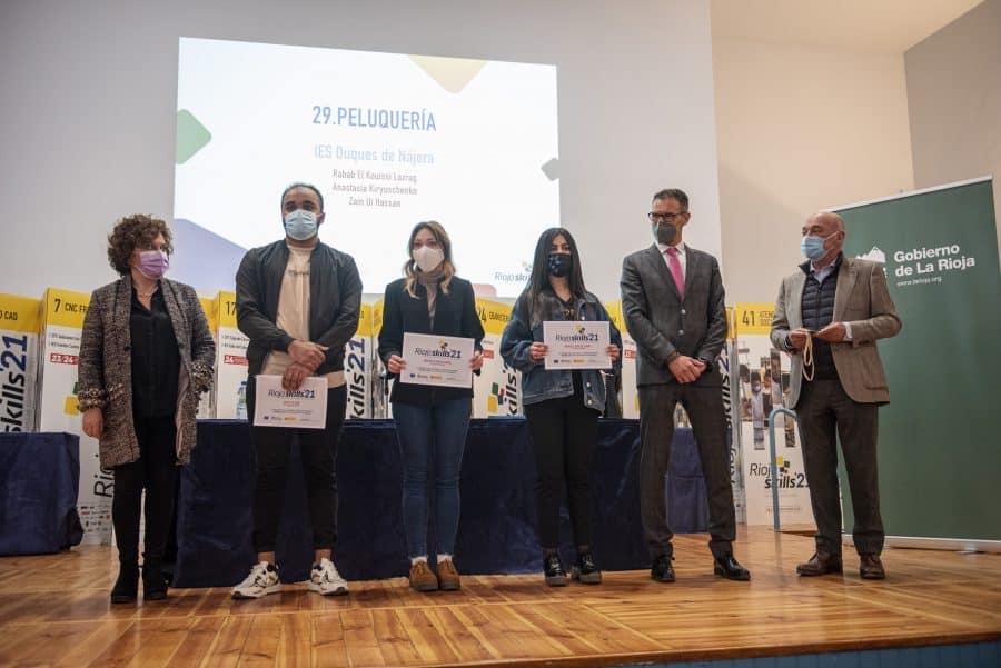 """RiojaSkills 2021 entrega sus premios y se plantea como reto una FP """"que rompa con los estereotipos culturales"""" 10"""