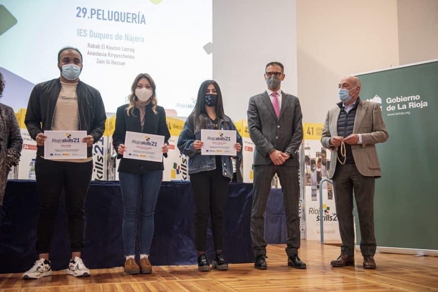 """RiojaSkills 2021 entrega sus premios y se plantea como reto una FP """"que rompa con los estereotipos culturales"""" 9"""