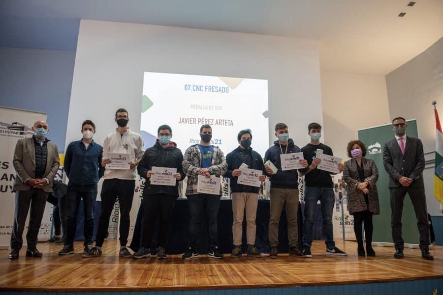 """RiojaSkills 2021 entrega sus premios y se plantea como reto una FP """"que rompa con los estereotipos culturales"""" 7"""