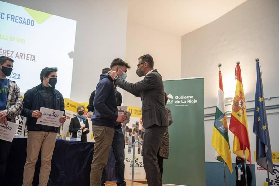 """RiojaSkills 2021 entrega sus premios y se plantea como reto una FP """"que rompa con los estereotipos culturales"""" 5"""