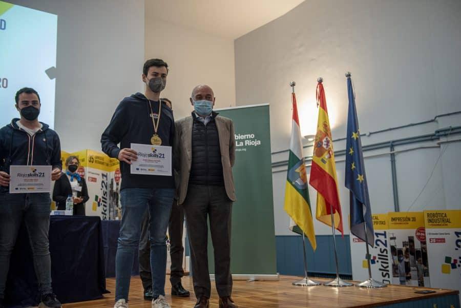 """RiojaSkills 2021 entrega sus premios y se plantea como reto una FP """"que rompa con los estereotipos culturales"""" 4"""