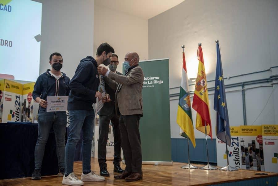 """RiojaSkills 2021 entrega sus premios y se plantea como reto una FP """"que rompa con los estereotipos culturales"""" 3"""