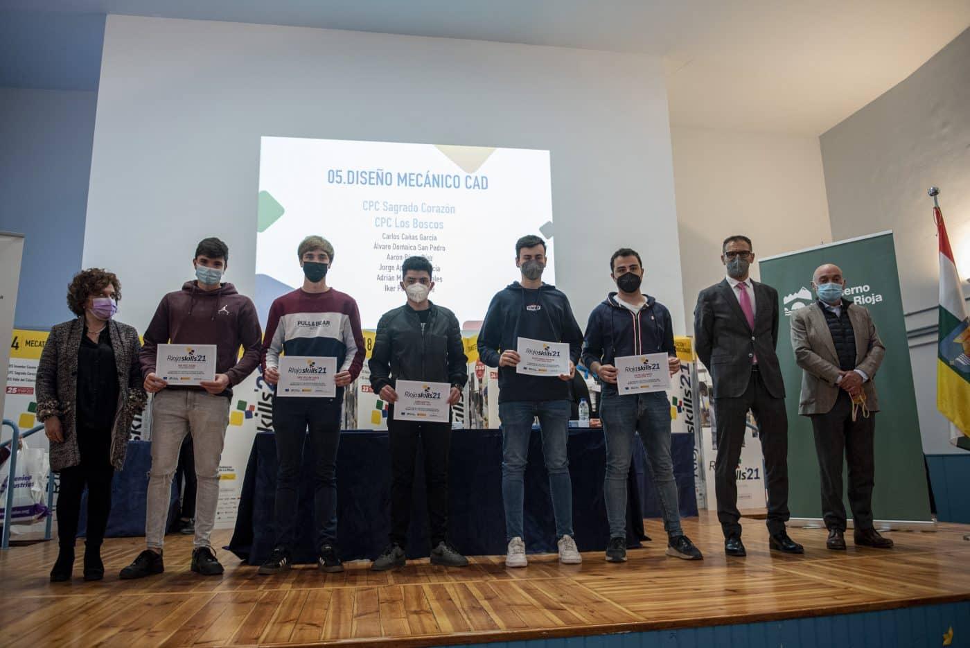 """RiojaSkills 2021 entrega sus premios y se plantea como reto una FP """"que rompa con los estereotipos culturales"""" 1"""
