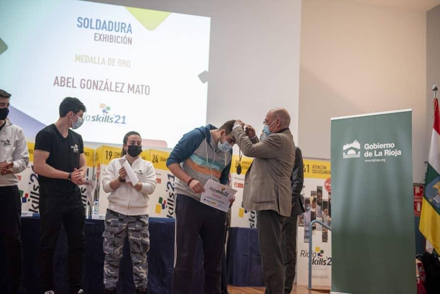 """RiojaSkills 2021 entrega sus premios y se plantea como reto una FP """"que rompa con los estereotipos culturales"""" 18"""