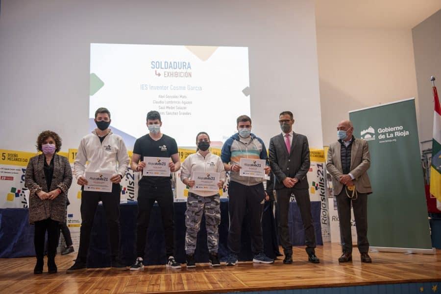 """RiojaSkills 2021 entrega sus premios y se plantea como reto una FP """"que rompa con los estereotipos culturales"""" 17"""