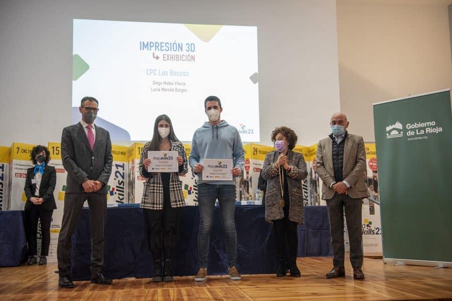 """RiojaSkills 2021 entrega sus premios y se plantea como reto una FP """"que rompa con los estereotipos culturales"""" 16"""