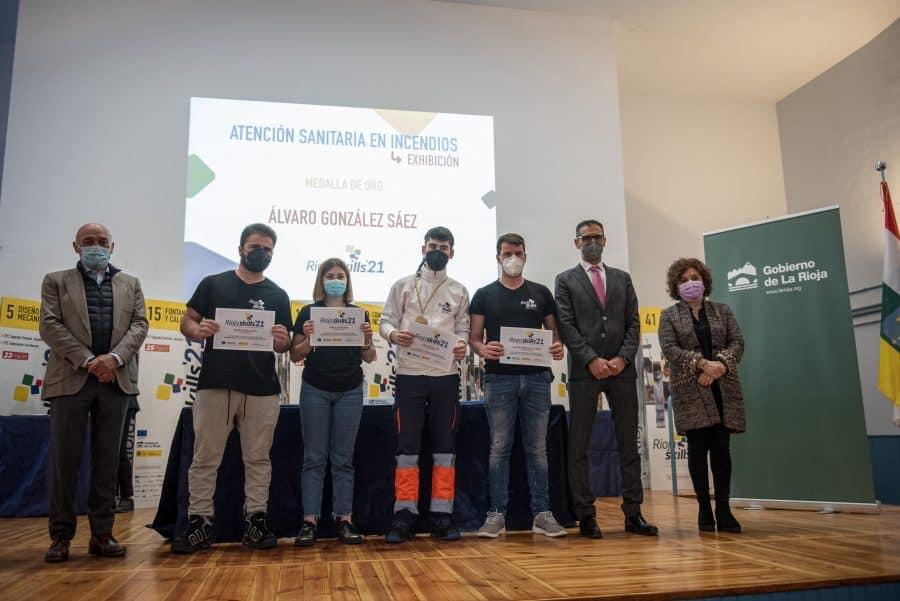 """RiojaSkills 2021 entrega sus premios y se plantea como reto una FP """"que rompa con los estereotipos culturales"""" 15"""
