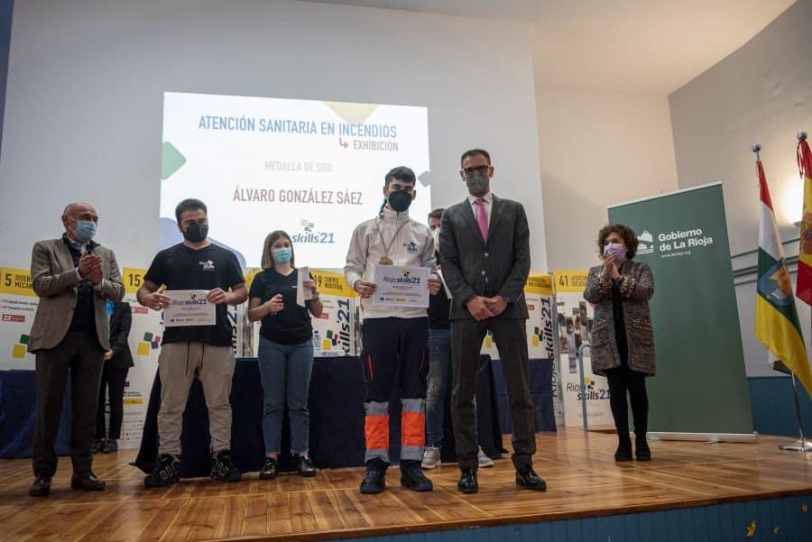 """RiojaSkills 2021 entrega sus premios y se plantea como reto una FP """"que rompa con los estereotipos culturales"""" 14"""