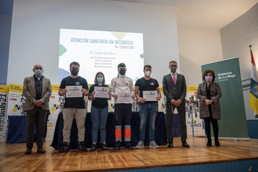 """RiojaSkills 2021 entrega sus premios y se plantea como reto una FP """"que rompa con los estereotipos culturales"""" 13"""
