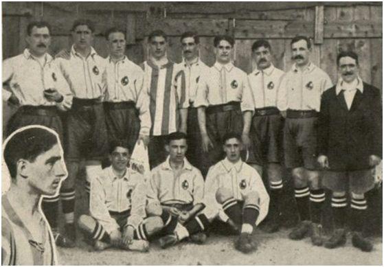 Cipriano Prada, un jarrero en la primera Selección Española de Fútbol 1